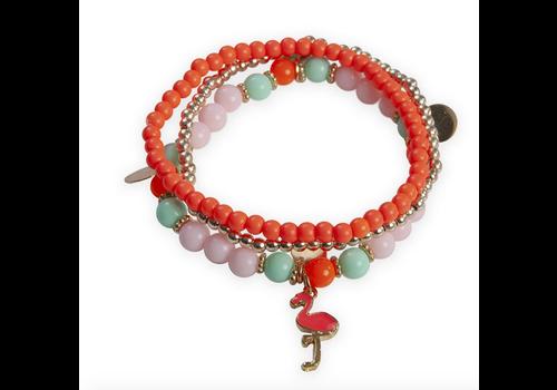creative education Hot Tropics 3 Pcs Bracelet Set, Assorted