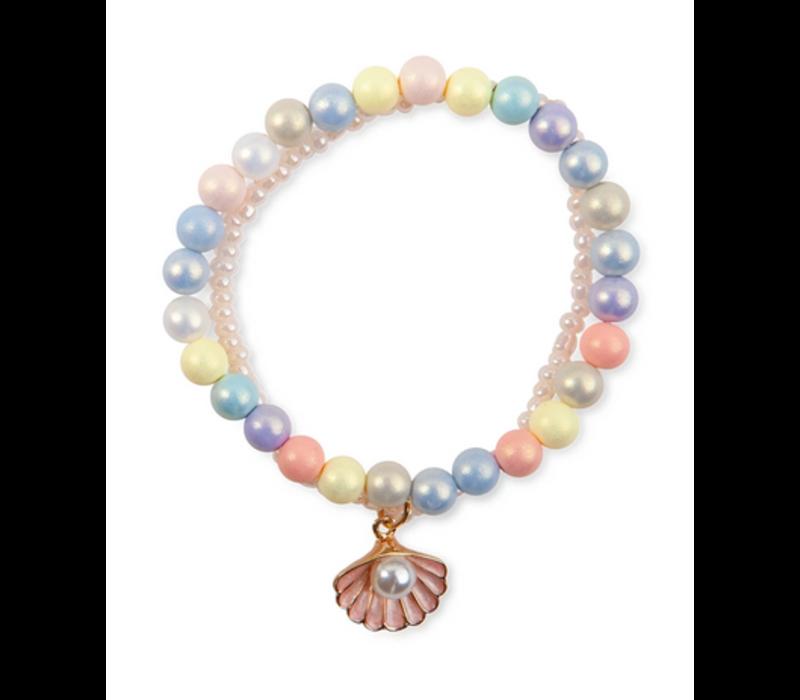 Boutique Pastel Shell Bracelet