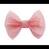 creative education Boutique Pink Gem Bown Hairclip