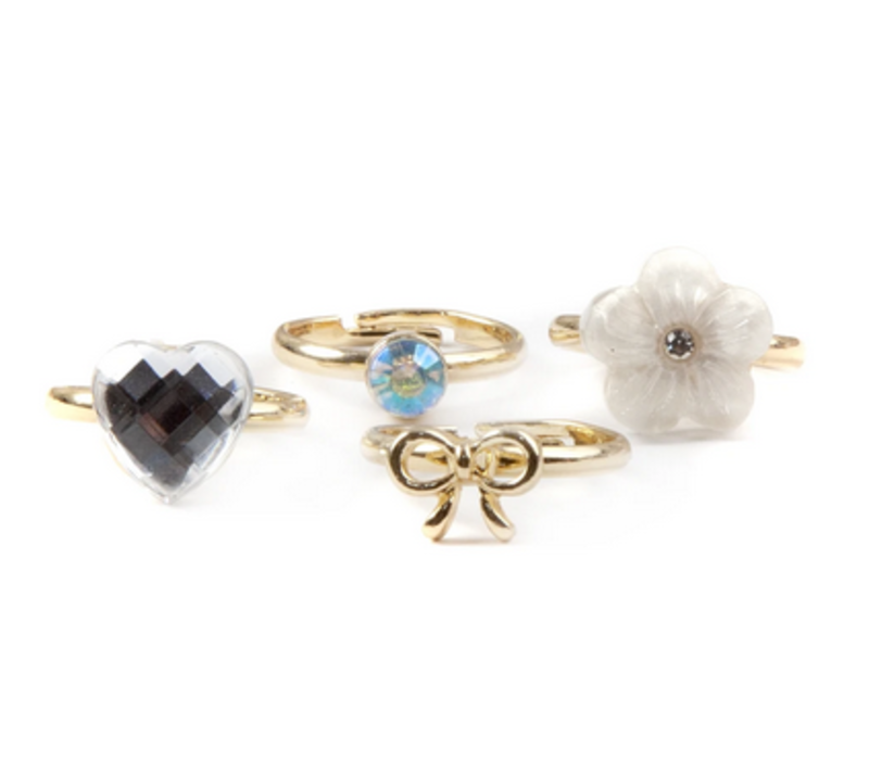 Boutique Sassy Rings. 4 Pcs