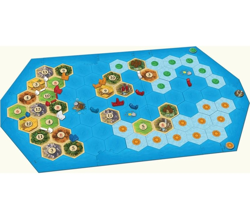 Catan Extension Explorer and Pirates (version anglaise)