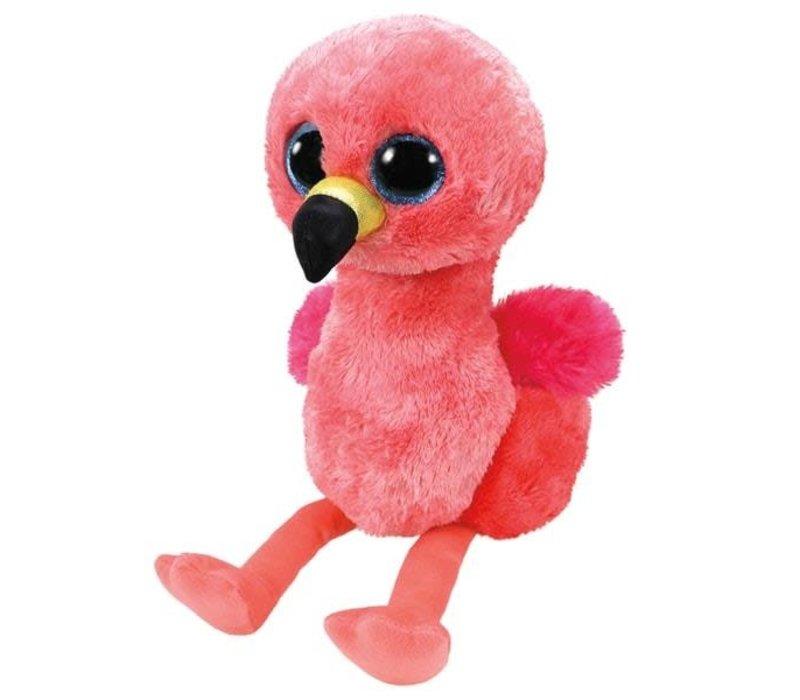 Beanie Boo's Flamant Rose Gilda Flamingo 6''