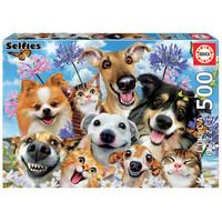 Casse-tête 500 pièces - Selfie au soleil
