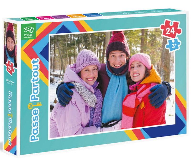 Casse-tête Passe-Partout Les trois Passe en hiver