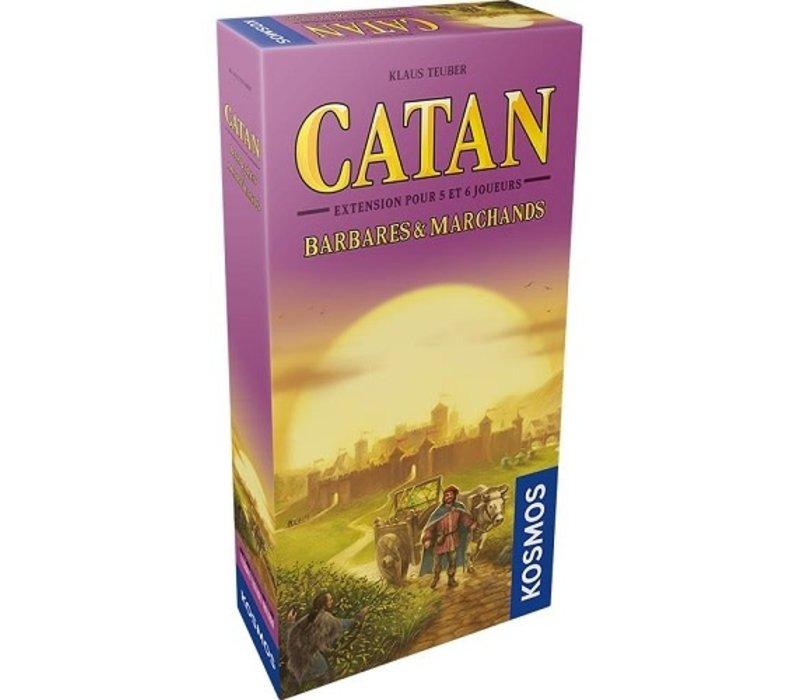Catan Extension Marchands et barbares 5-6 joueurs