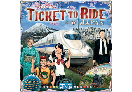 Days of Wonder Ticket to ride : Japan Italy Map #7 (multilingue)