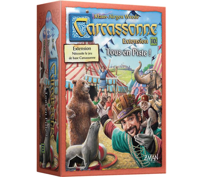 Carcassonne Extension Tous en piste