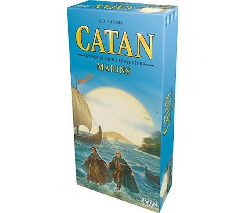 Catan - Extension Marins 5/6 joueurs