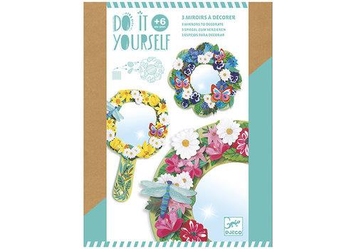 Djeco Collection DIY -  Mosaïques et autocollants - Jolies fleurs