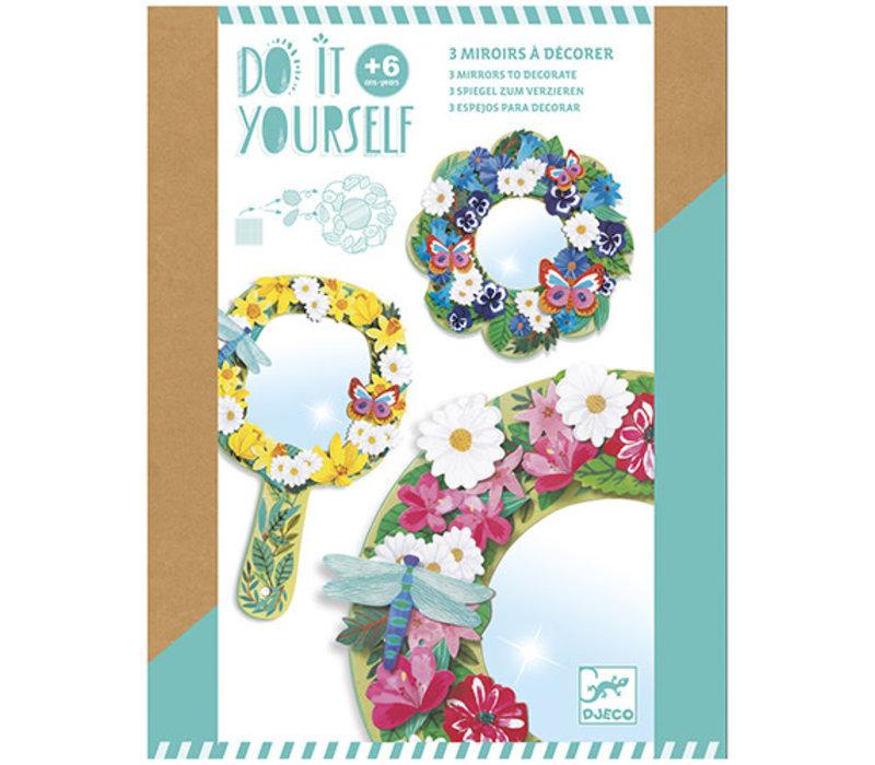 Collection DIY -  Mosaïques et autocollants - Jolies fleurs