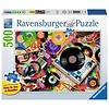 Ravensburger Casse-tête Vive le Vinyl - 500 morceaux large format
