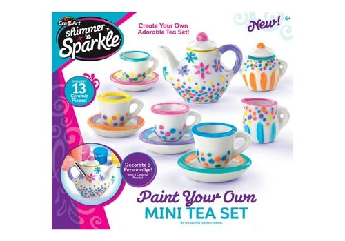 Shimmer and Sparkle Mini Tea Set
