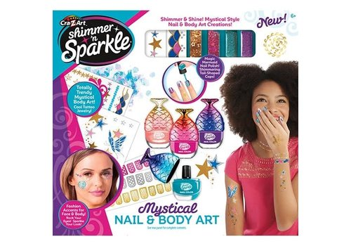 Shimmer and Sparkle Mystical Nail and Body Art