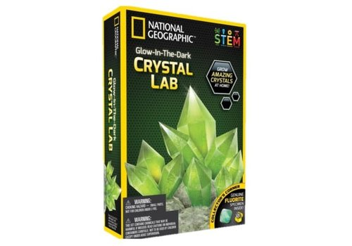 National Geographic National Geographic Glow In Dark Crystal Green