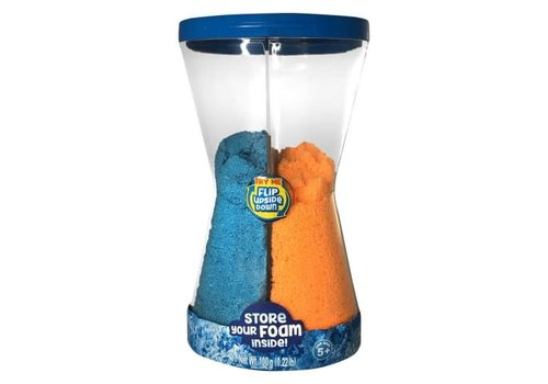 Foam Alive - Blue & Orange Double Flip Pack 100g