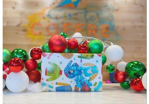 le coffre a jouets Boîtes surprises de Noël corporatives (Entreprises, CPE, écoles, associations,...)
