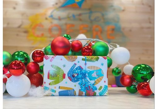le coffre a jouets Christmas surprise box for company (Business, daycare, school, ...)