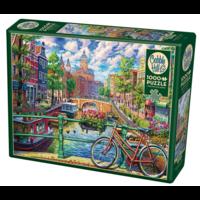 Casse-tête 1000 morceaux - Amsterdam Canal