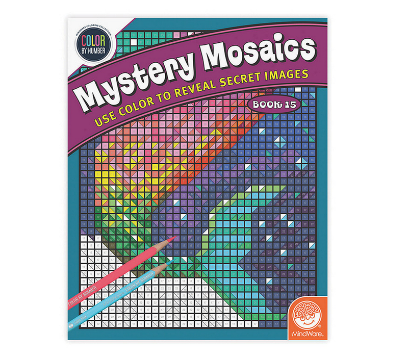 Color by numbers - Mystery Mosaics - Livre 15