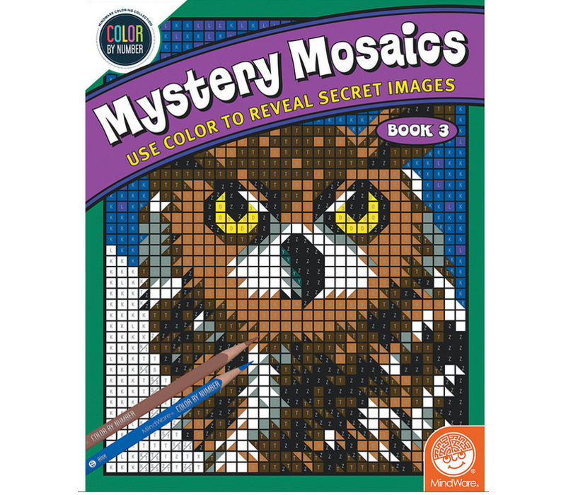Color by numbers - Mystery Mosaics - Livre 3