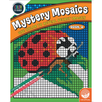 Color by numbers - Mystery Mosaics - Livre 4