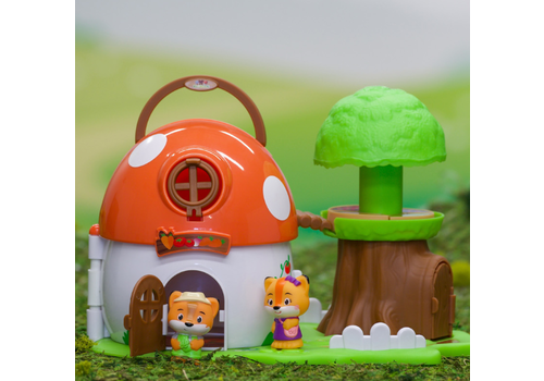 Fat Brain Toy Co. Timber Tots Mushroom Surprise