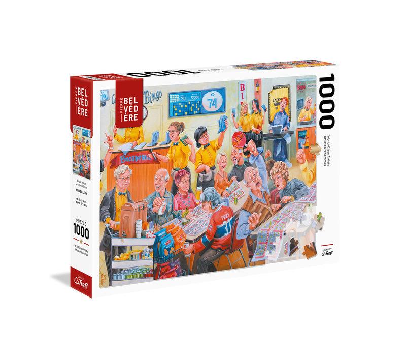 Casse-tête 1000 morceaux - Veilleux, Le salon de Bingo