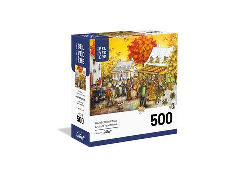 trefl Casse-tête 500 morceaux - C. Genest - Café Bistro