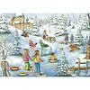 trefl Casse-tête 1000 morceaux - Genest - Chateau sous la neige