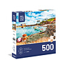 trefl Casse-tête 500 morceaux - Aquarelle, bateau et filet
