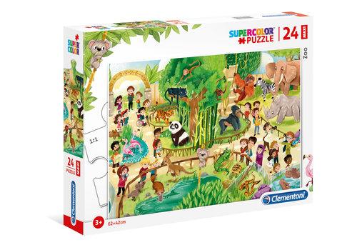Clementoni Casse-tête 24 morceaux - Au zoo