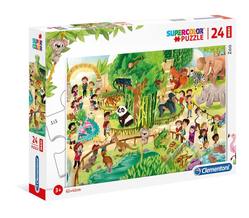 Casse-tête 24 morceaux - Au zoo