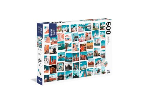 trefl Casse-tête 500 morceaux - Souvenir de voyage