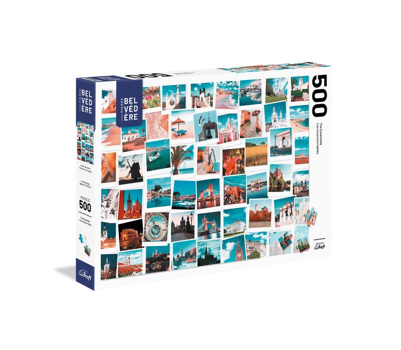 Casse-tête 500 morceaux - Souvenir de voyage