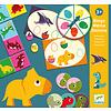 Djeco Bingo mémo domino Dinosaures