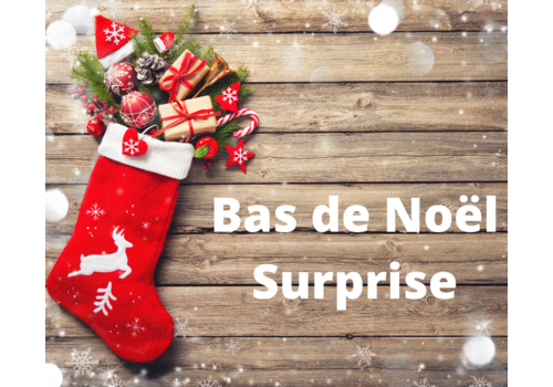 le coffre a jouets Surprise Christmas stocking