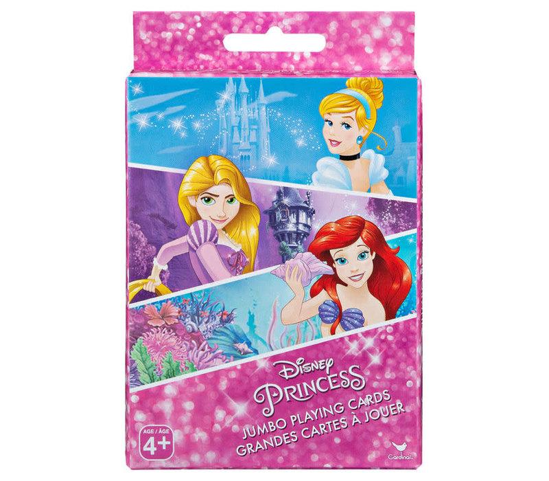 Cartes à jouer jumbo princesse