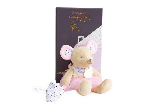 Doudou et Compagnie La petite souris va passer-Suzie en tutu 19 cm