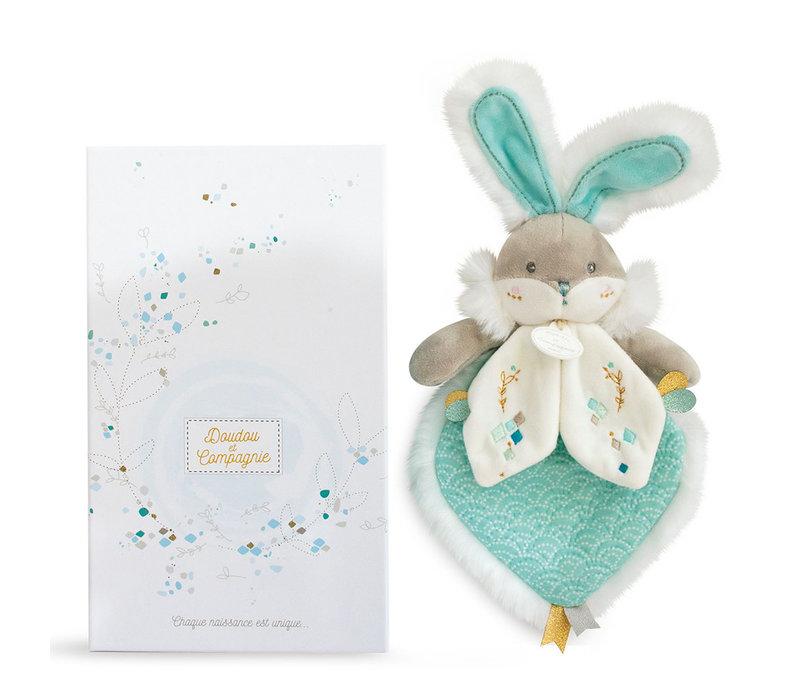 Almond Sugar Bunny Blanky  - 24 cm