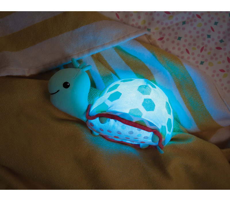B.Baby - Tortue lumineuse Shellé zzzs