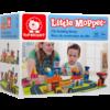 little moppets Blocs de construction de ville - 84 morceaux