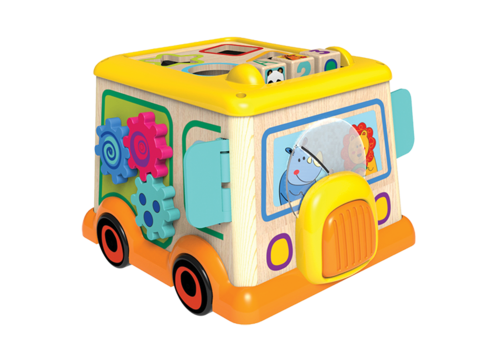 little moppets My first school bus activity truck