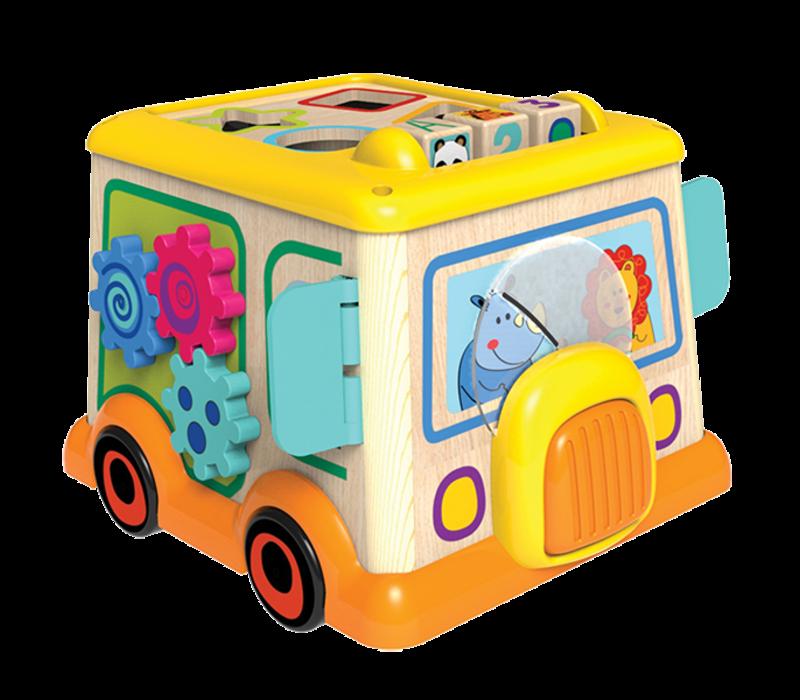 """Camion d'activités """"Mon premier autobus scolaire''"""