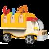 little moppets Camion avec établi rabattable