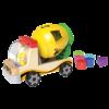 little moppets Camion malaxeur avec trieur de formes