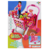 little moppets Chariot d'épicerie 3 en 1 - Rose