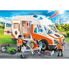 Playmobil Ambulance et secouristes / Ambulance with flashing lights