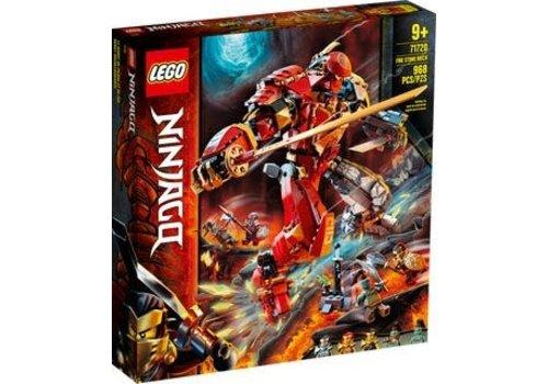 Lego Ninjago - Le robot de pierre et de feu