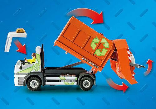 Playmobil Camion de recyclage des ordures