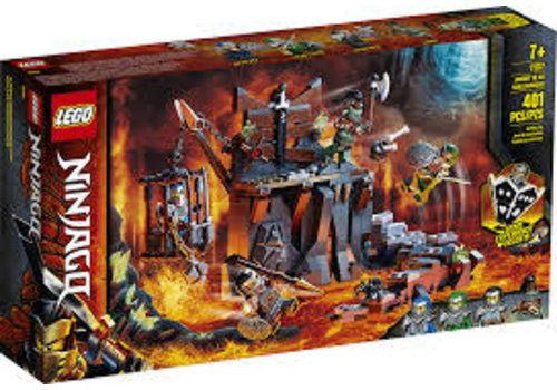 Lego Ninjago - Le périple jusqu'au donjon du Crâne